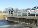 Patrolowanie Noteci i Kanału Noteckiego zima 2011