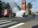 Pożar samochodu na Rynku w Rynarzewie 17.09.2011