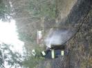 Szkocja 1.04.2012 pożar nasypu kolejowego