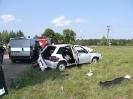 Wypadek Olek Głeboczek  07.07.2011